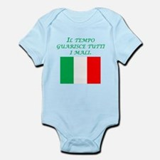 Italian Proverb Time Heals Infant Bodysuit