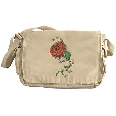 Lexi's Rose Messenger Bag