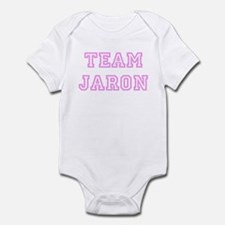 Pink team Jaron Infant Bodysuit