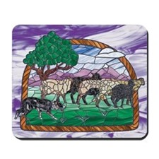 BC (Tri) & Sheep Mousepad