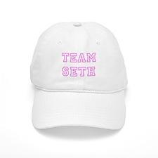 Pink team Seth Baseball Cap