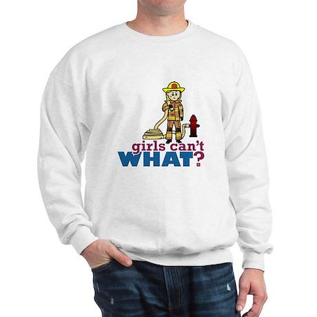 Firefighter Girls Sweatshirt
