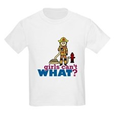 Firefighter Girls T-Shirt