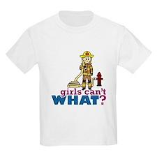 Firefighter Girls T-Shirt