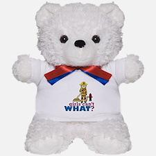 Firefighter Girls Teddy Bear