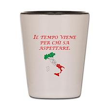 Italian Proverb Patience Shot Glass