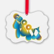 Groovy Ornament