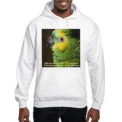 Blue-fronted Amazon Hooded Sweatshirt
