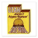 Utah State Patrol Polygamy Playground Square Car M