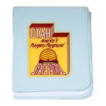 Utah State Patrol Polygamy Playground baby blanket