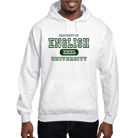 English University Hooded Sweatshirt