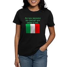 Italian Proverb One Eyed Man Tee