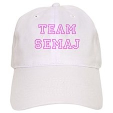 Pink team Semaj Baseball Cap