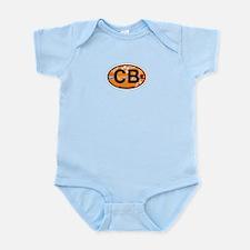 Cocoa Beach - Oval Design. Infant Bodysuit
