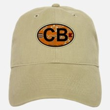 Cocoa Beach - Oval Design. Baseball Baseball Cap