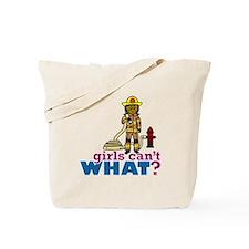 Firefighter Women Tote Bag