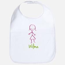 Wilma-cute-stick-girl.png Bib