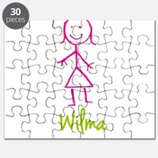 Wilma-cute-stick-girl.png Puzzle
