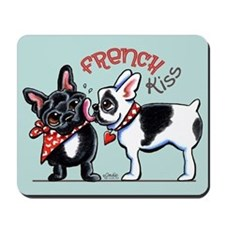 French Kiss Mousepad