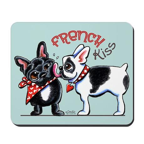 French Kiss Mousepad
