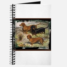 Antique Dachshund Doxie Journal