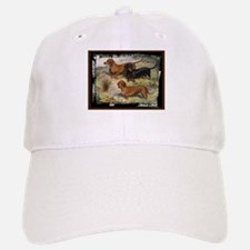 Antique Dachshund Doxie Baseball Baseball Cap