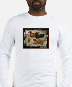 Antique Dachshund Doxie Long Sleeve T-Shirt