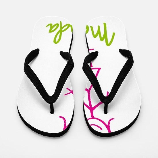 Melinda-cute-stick-girl.png Flip Flops