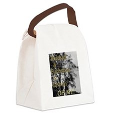 Oh My Grimm Canvas Lunch Bag