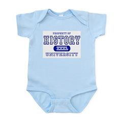 History University Infant Bodysuit