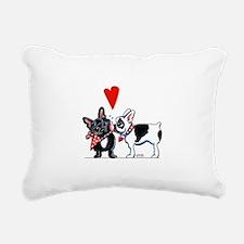 French Kiss Rectangular Canvas Pillow