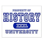 History University Small Poster