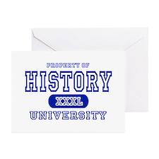 History University Greeting Cards (Pk of 10)