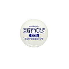 History University Mini Button (10 pack)