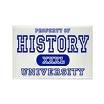 History University Rectangle Magnet