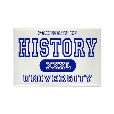 History University Rectangle Magnet