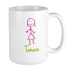 Tamara-cute-stick-girl.png Ceramic Mugs