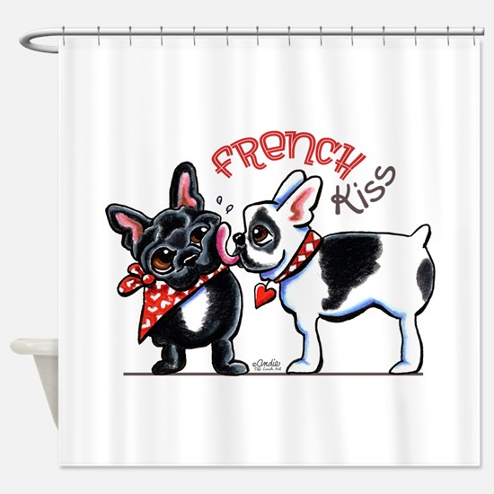 French Kiss Shower Curtain