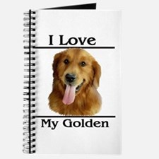 I Love My Golden Journal