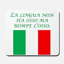 Italian Proverb The Tongue Mousepad