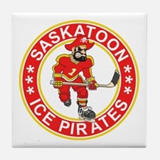 Saskatoon Ice Pirates Tile Coaster