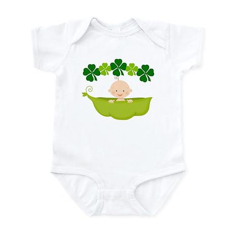Irish Baby St Patricks Pea Pod Infant Bodysuit