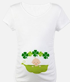 Irish Baby St Patricks Pea Pod Shirt