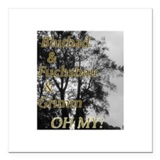 """Oh My Grimm Square Car Magnet 3"""" x 3"""""""