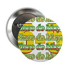 "Cinco de Mayo 5 May 2.25"" Button"