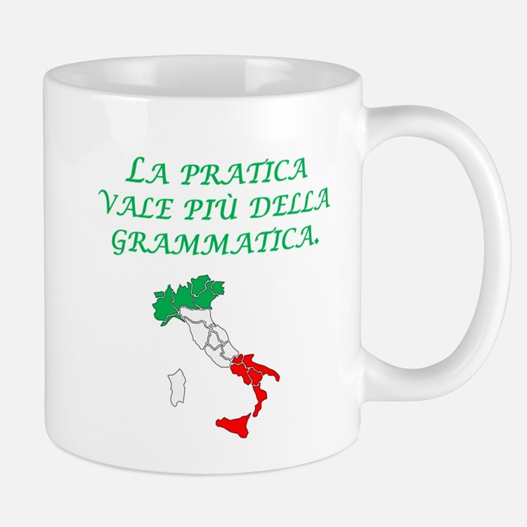 Italian Proverb Experience Mug