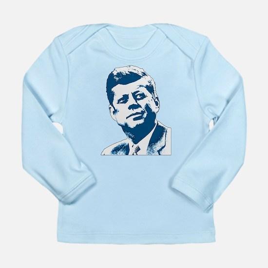 John F Kennedy Tribute Long Sleeve Infant T-Shirt