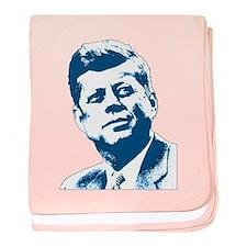 John F Kennedy Tribute baby blanket