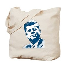 John F Kennedy Tribute Tote Bag