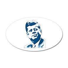 John F Kennedy Tribute Wall Decal